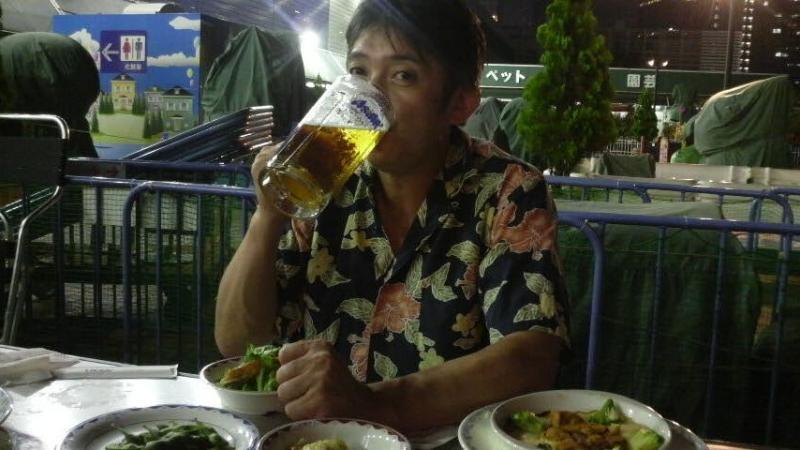 夏+ビール=満足